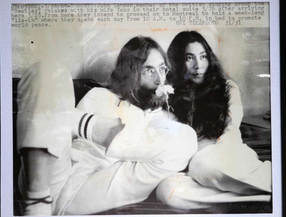 John Lennon and Yoko Onos Original Nude
