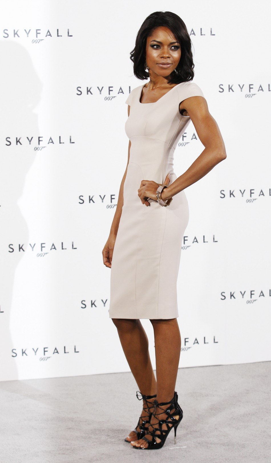 Actor Naomie Harris poses while launching the start of production of the new James Bond film quotSkyFallquot at a restaurant in London