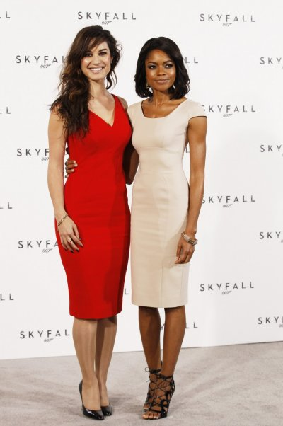 Actors Berenice Marlohe and Naomie Harris