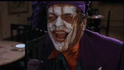 6. Jack Nicholson as Joker in Batman