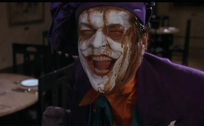 6. Jack Nicholson as Joker in Batman