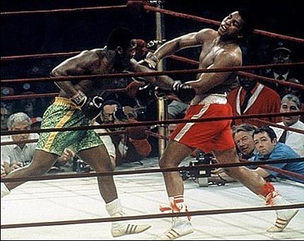 Frazier versus Ali in1971