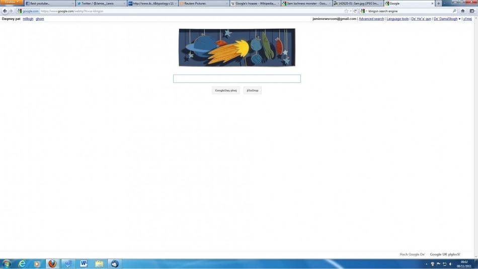 Klingon Search Engine