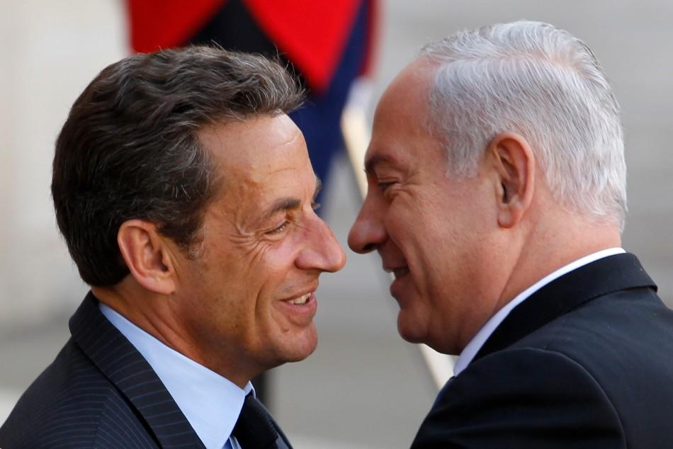 Sarkozy calls Netanyahu a