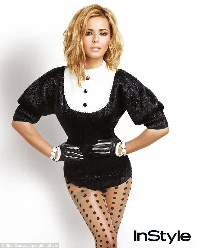 Cheryl Cole InStyle photoshoot