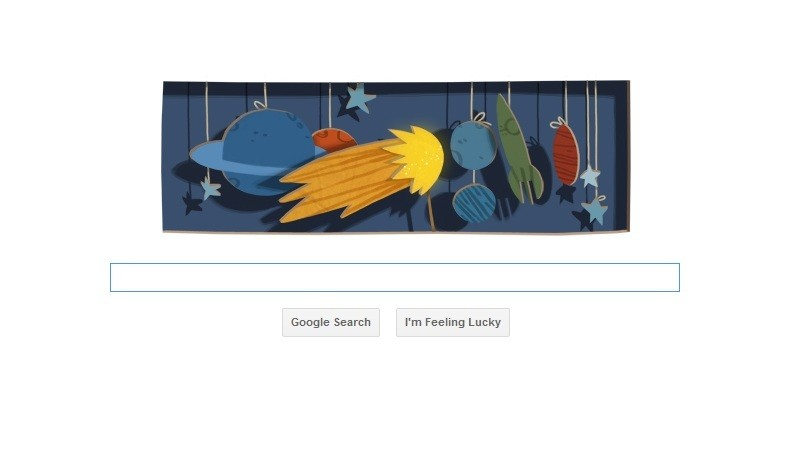 New Google Doodle Celebrates Edmond Halley's Birthday