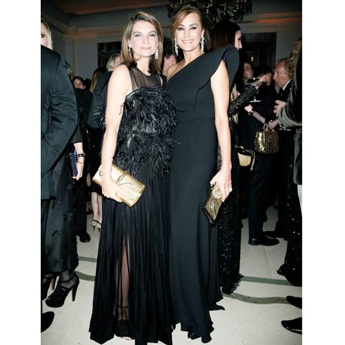 Natalie Massenet and Yasmin Le Bon