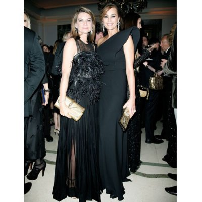 Natalie Massenet and Yasmin Le Bon