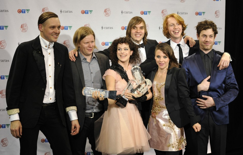 Arcade Fire Supports Student Protests in Quebec