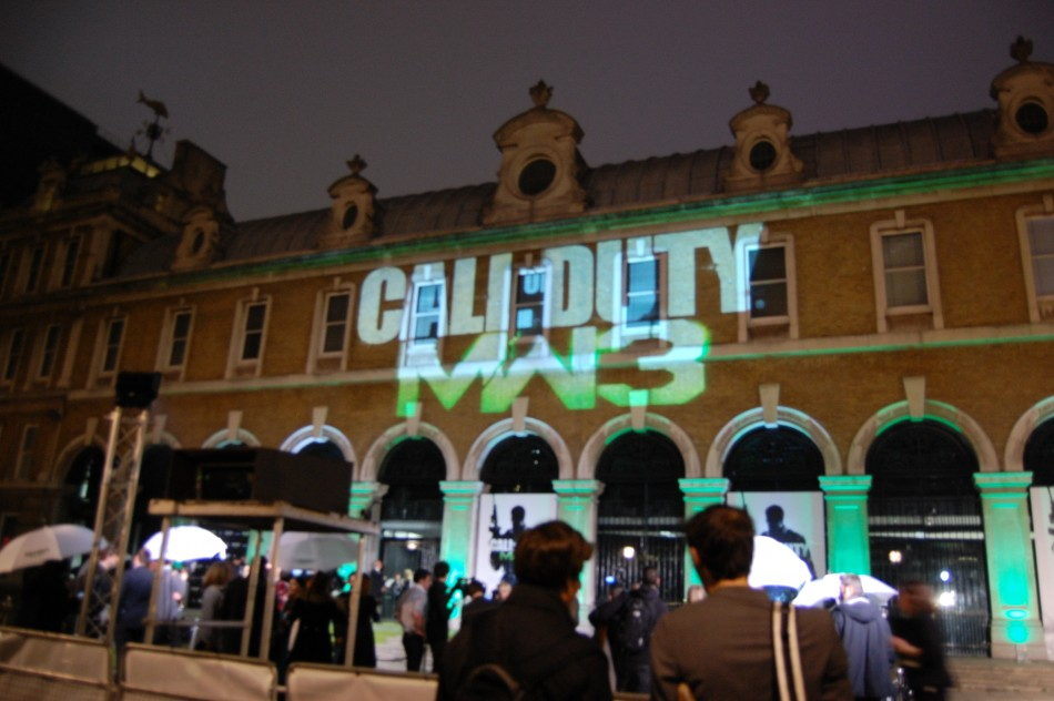 Call of Duty Modern Warfare 3 London launch party
