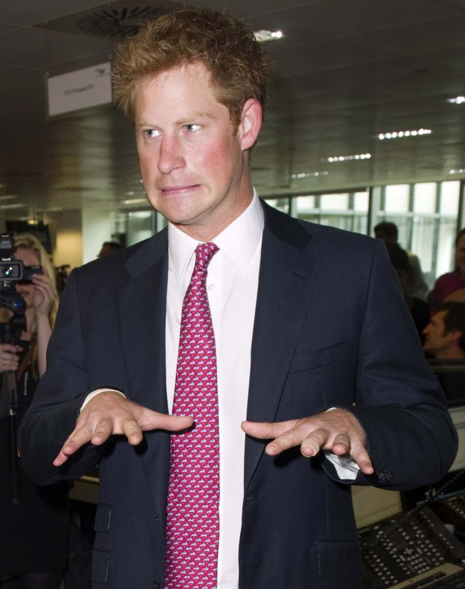 After the Arizona soujourn in an £11,000 Harley-Davidson, Prince Harry was back to his wild ways after he was seen partying with a blonde girl in Las Vegas, reported the Daily Star.