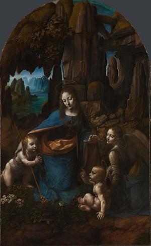 Leonardo da Vinci -The Virgin of the Rocks