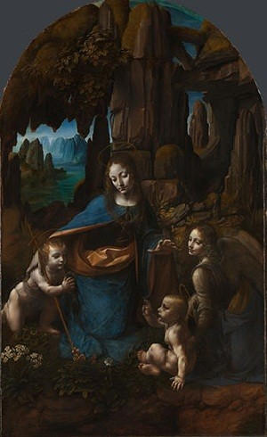 Leonardo da Vinci -The Virgin of the Rocks
