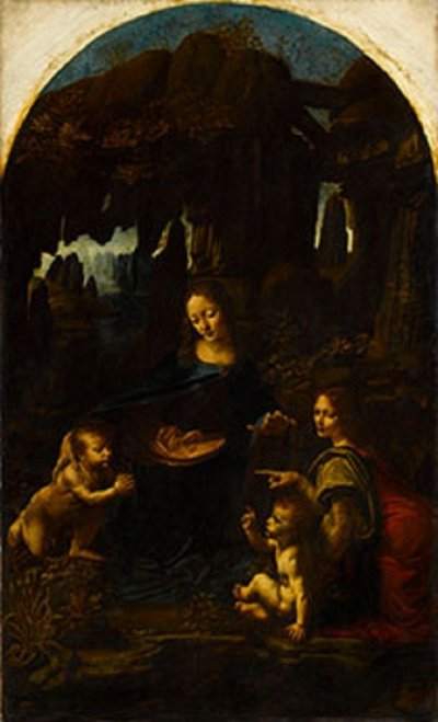 Leonardo da Vinci - The Virgin of the Rocks