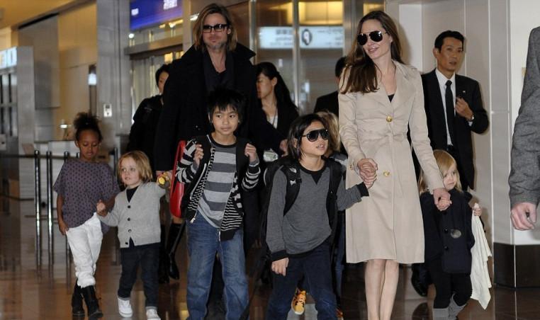 Brangelina and kids