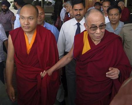 The Karmapa Lama and the Dalai Lama