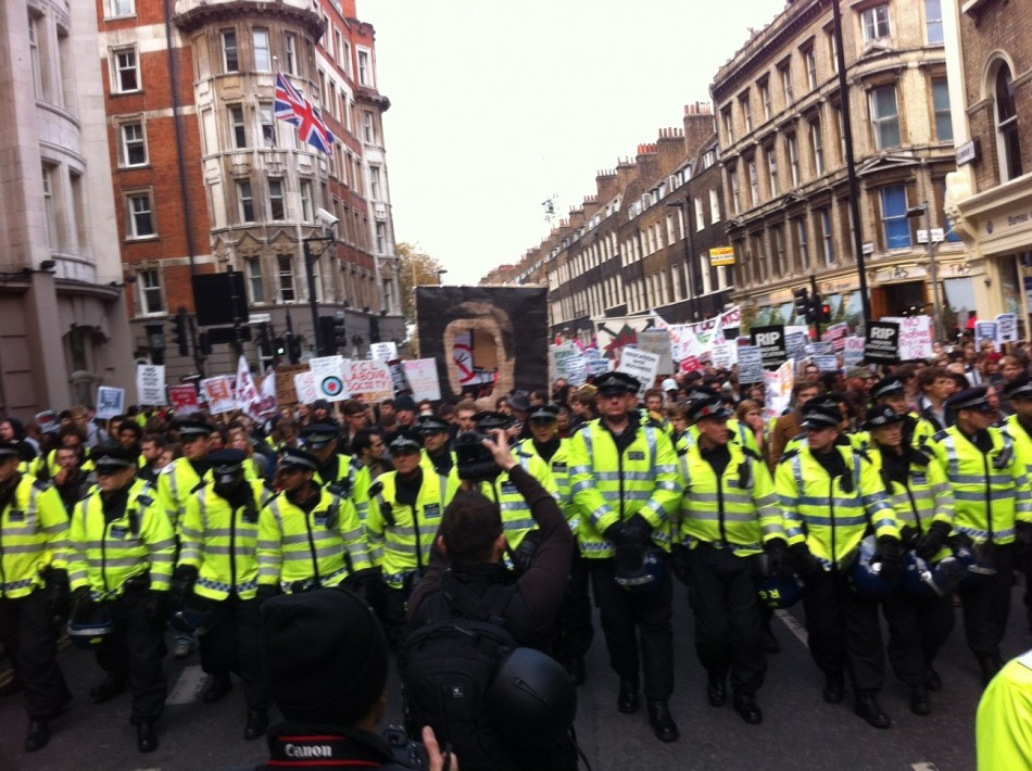 Police line front