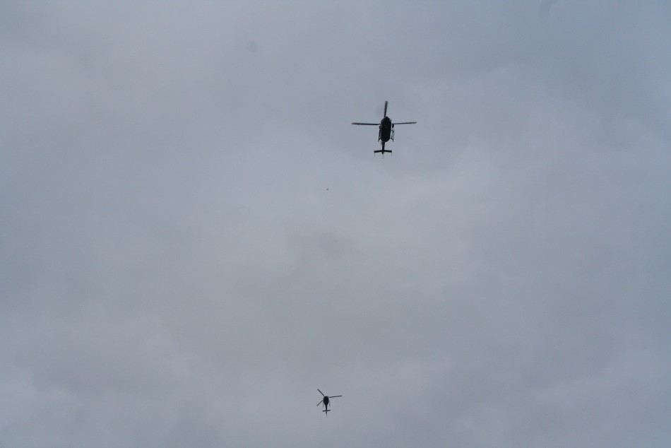 Police helicopters