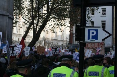 London Student Protests