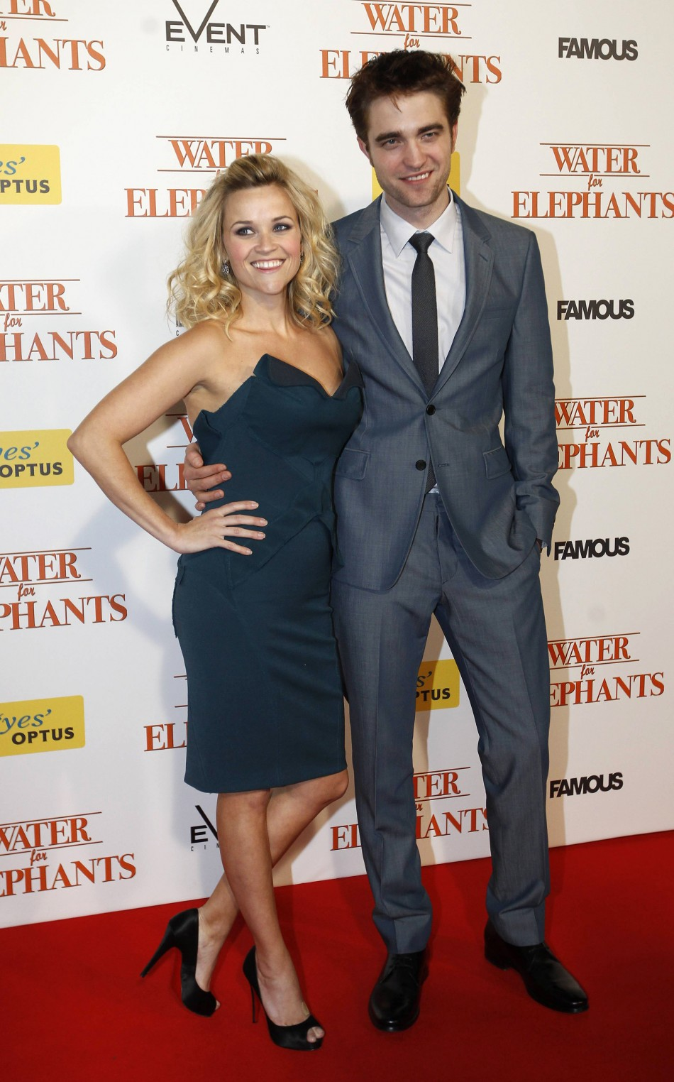 Reese Witherspoon and Robert Pattinson - £37.1m