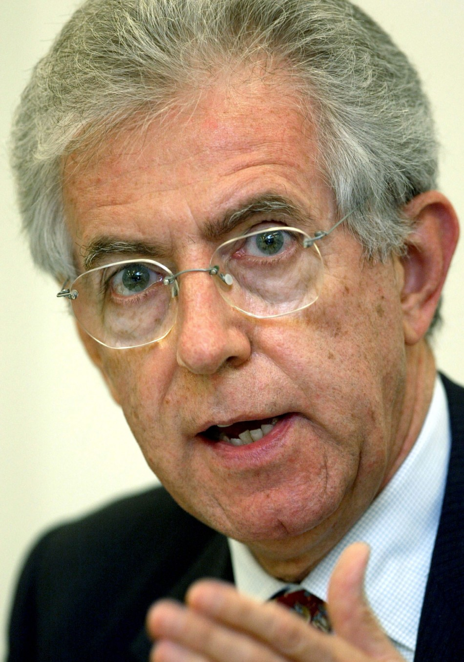 Economist and Former European Commissioner Mario Monti