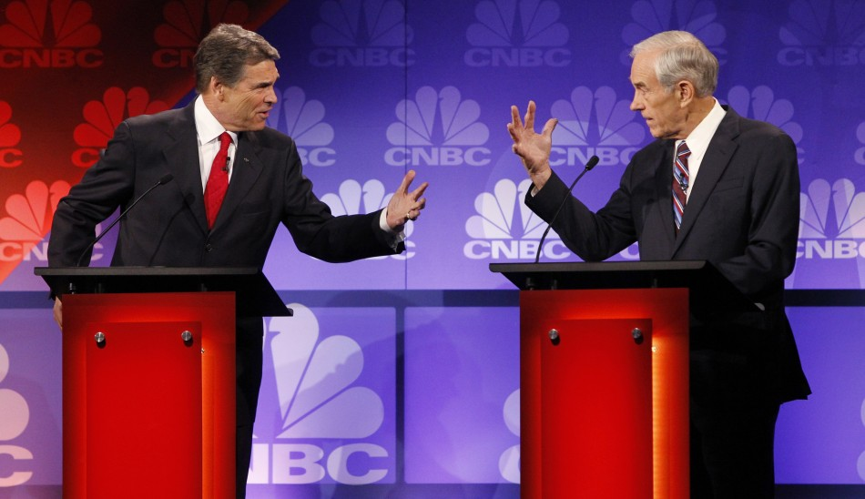 Rick Perry and Ron Paul