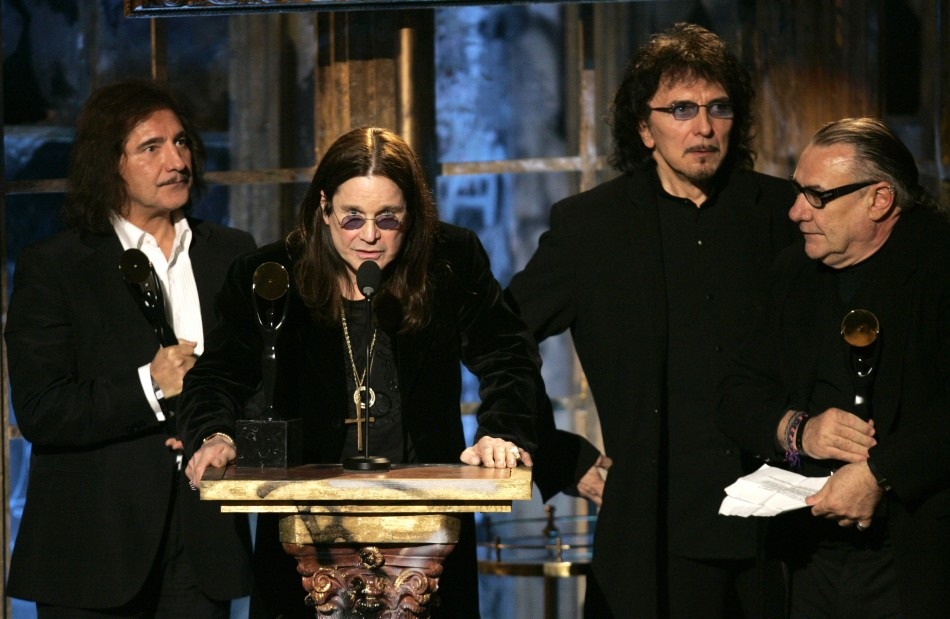 The founding members of Black Sabbath appeared in Los Angeles to make it official that their first album of new material since 1978 is coming next fall and that they're already gearing up for a tour, Billboard reported Friday. Legendary producer Rick Rubi