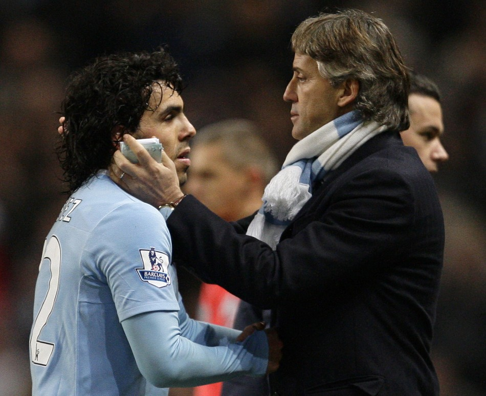 Roberto Mancini believes Carlos Tevez has played his final game for Manchester City.
