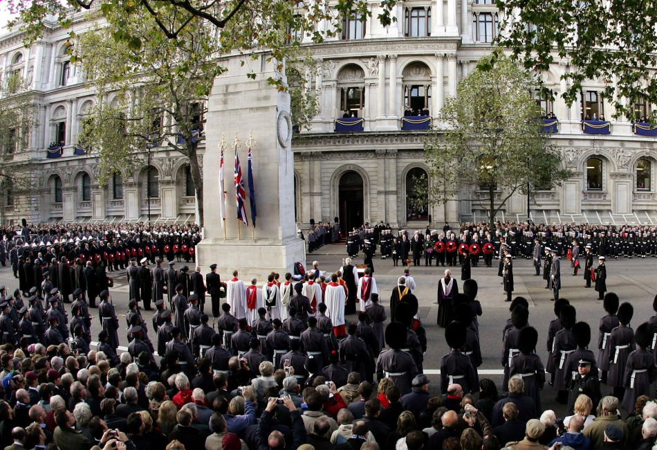 Cenotaph two-minute silence