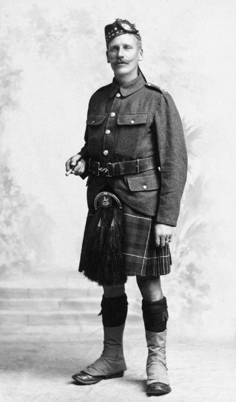 Private Thwaite Williamson, 210 Battalion, The Kings Liverpool Regiment.
