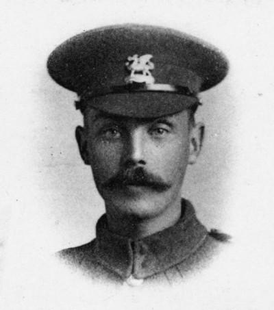 Private R C Johnston, East Kent Regiment.