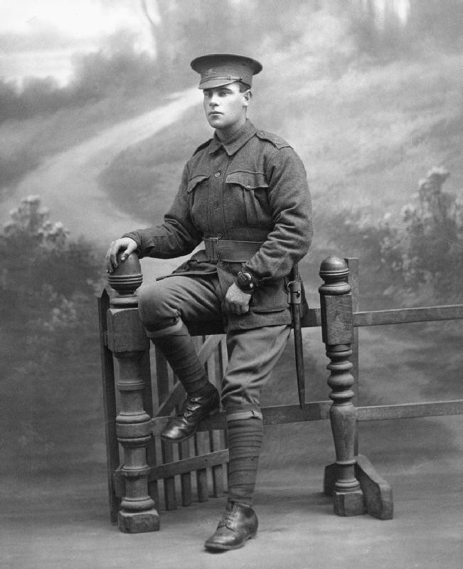 Private George Trevitt Thurgarland, 5th Reinforcements, 27th Battalion, Australian Imperial Force AIF.