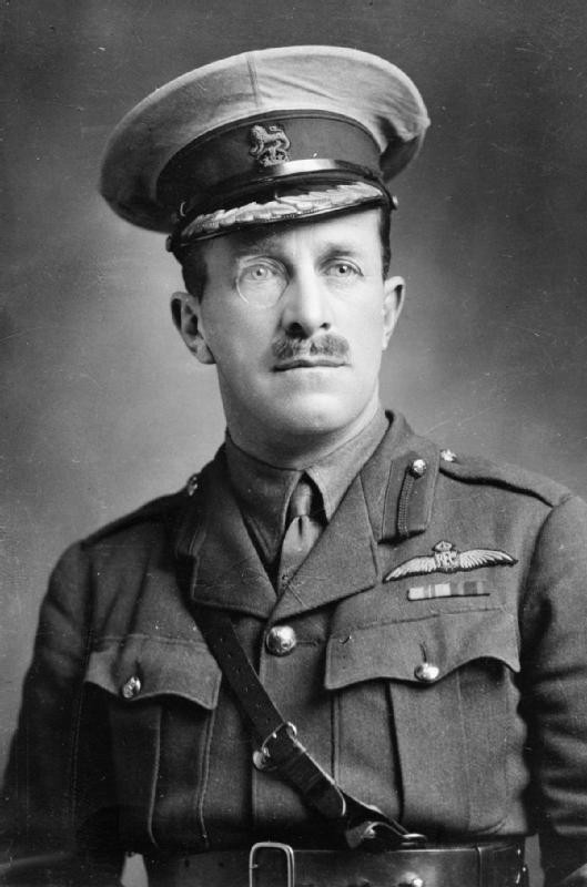 Major General William Sefton Brancker, Royal Flying Corps and Royal Air Force.