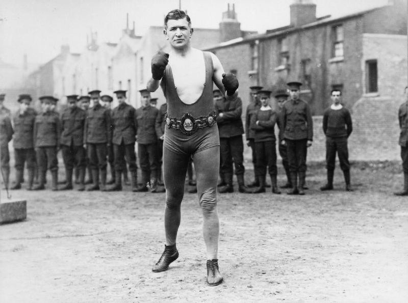 Lance Corporal Pat O'Keefe, Instructor, Boxing Platoon