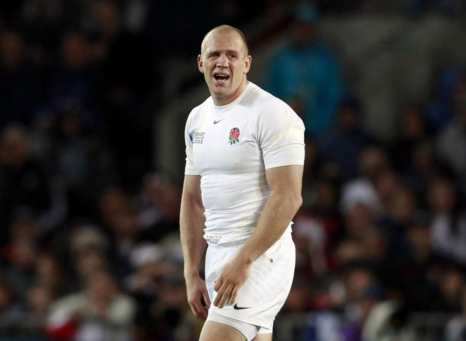 The RFU have punished Mike Tindall with a £25,000 fine and omitted him from the England squad.