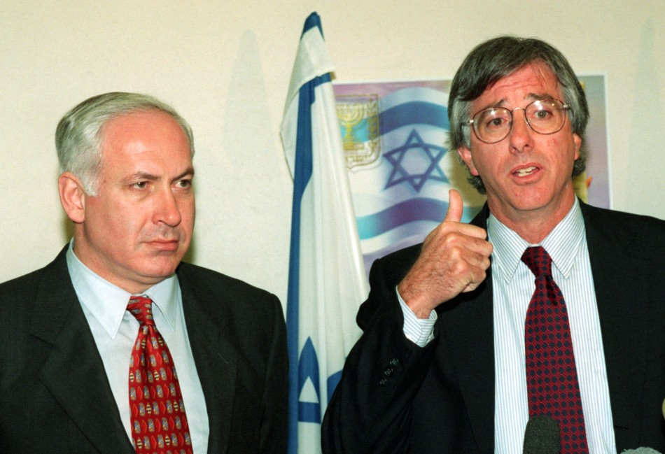 Dennis Ross and Benjamin Netanyahu