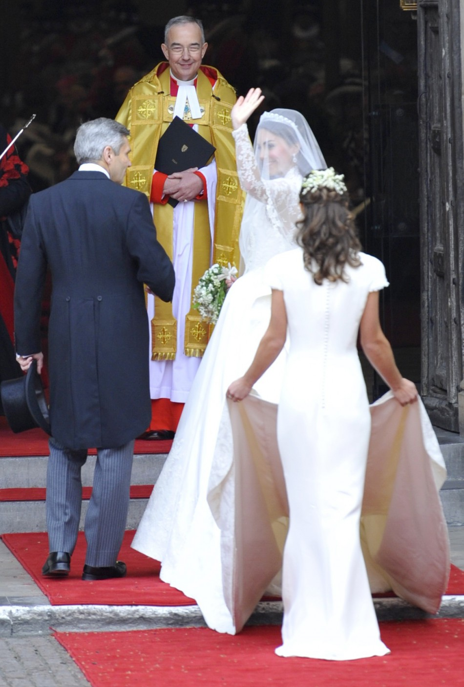 Pippa Middleton at royal wedding