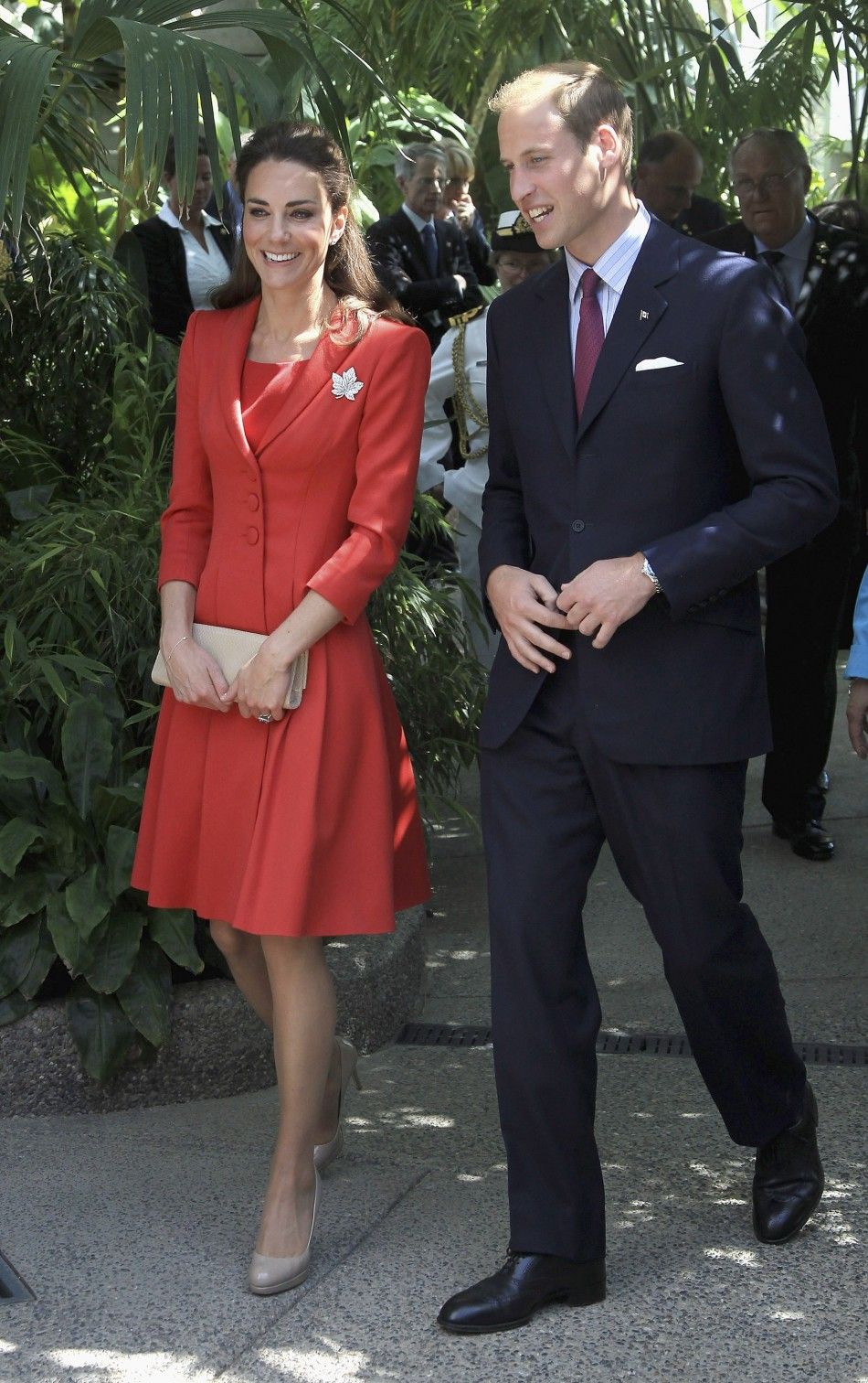 Catherine, Duchess of Cambridge and Prince William, Duke of Cambridge, attend a reception at Calgary Zoo