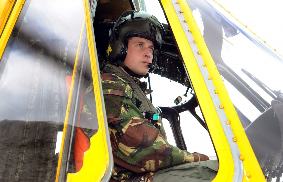 As the Flight Lieutenant Wales trained in search and rescue work in the RAF, Prince William, and his colleagues, helped in the rescue mission of the 81-metre Swanland cargo ship that sank almost immediately, because of heavy gales and enormous waves, in t