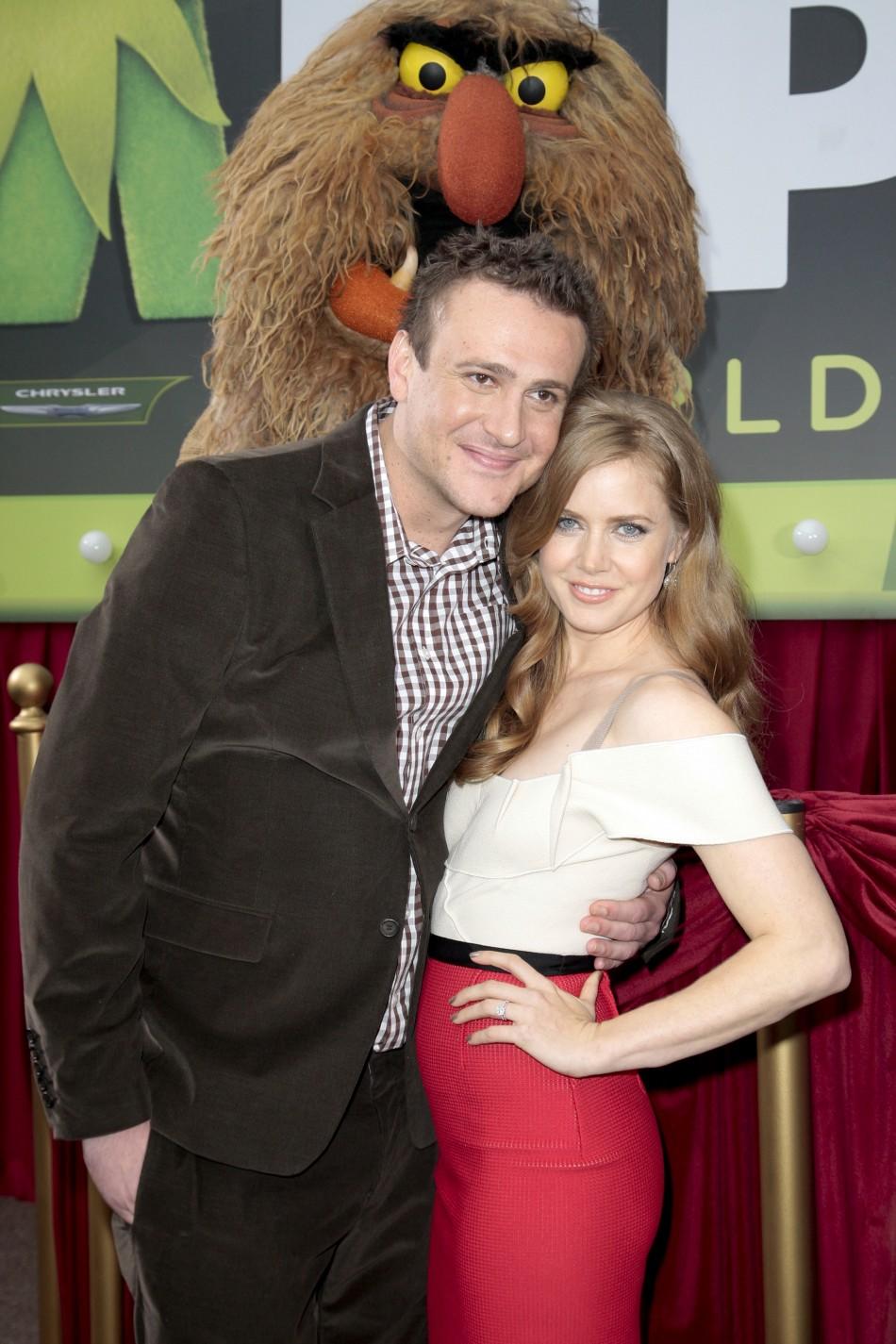 Jason Segel and Amy Adams