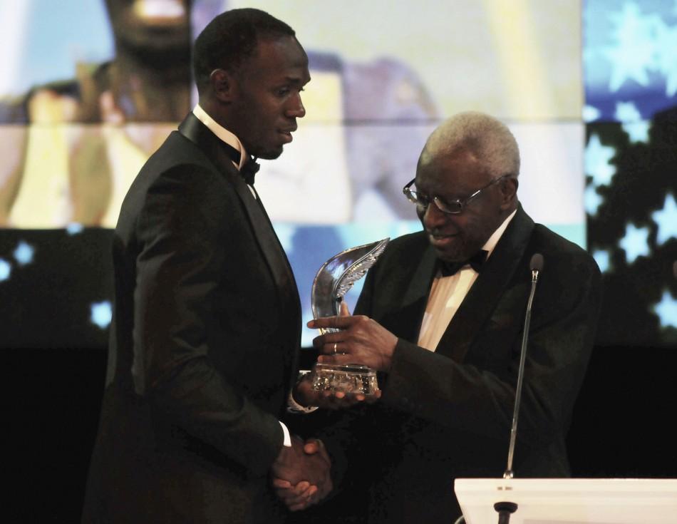 IAAF Male Athlete of the Year Award - Usain Bolt