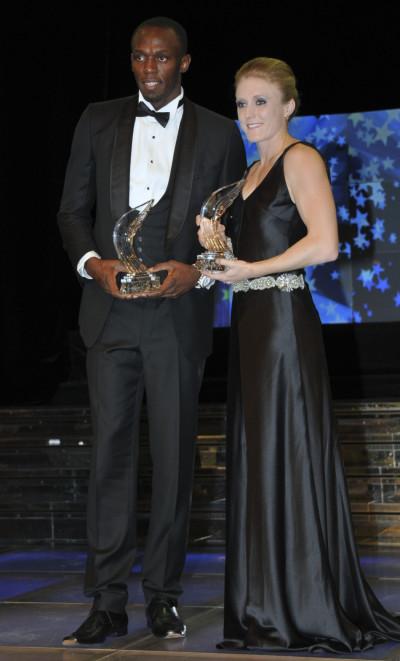 IAAF Athlete of the Year Awards - Sally Pearson, Usain Bolt