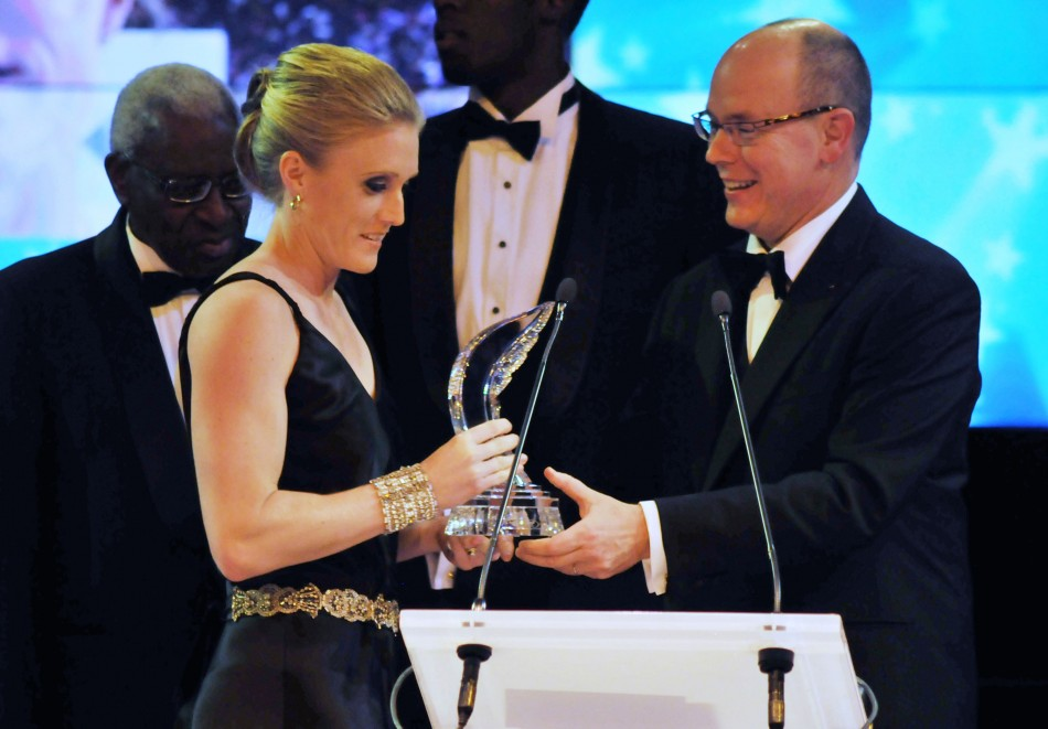 IAAF Female Athlete of the Year Award - Usain Bolt