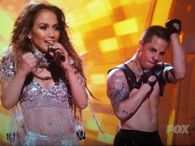 Jennifer Lopez and rumored boyfriend Casper Smart