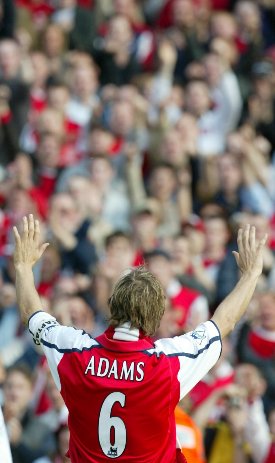 Tony Adams was a revered leader for club and country despite his off-field problems