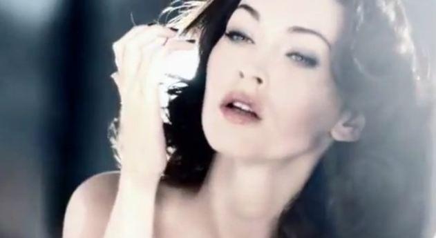 Megan Fox in Giorgio Armani ad