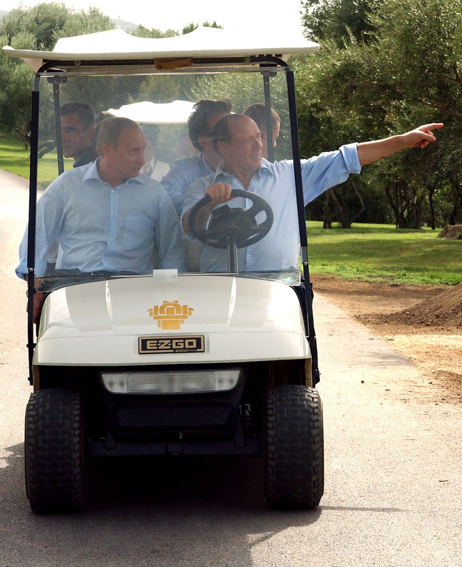 Berlusconi and Putin