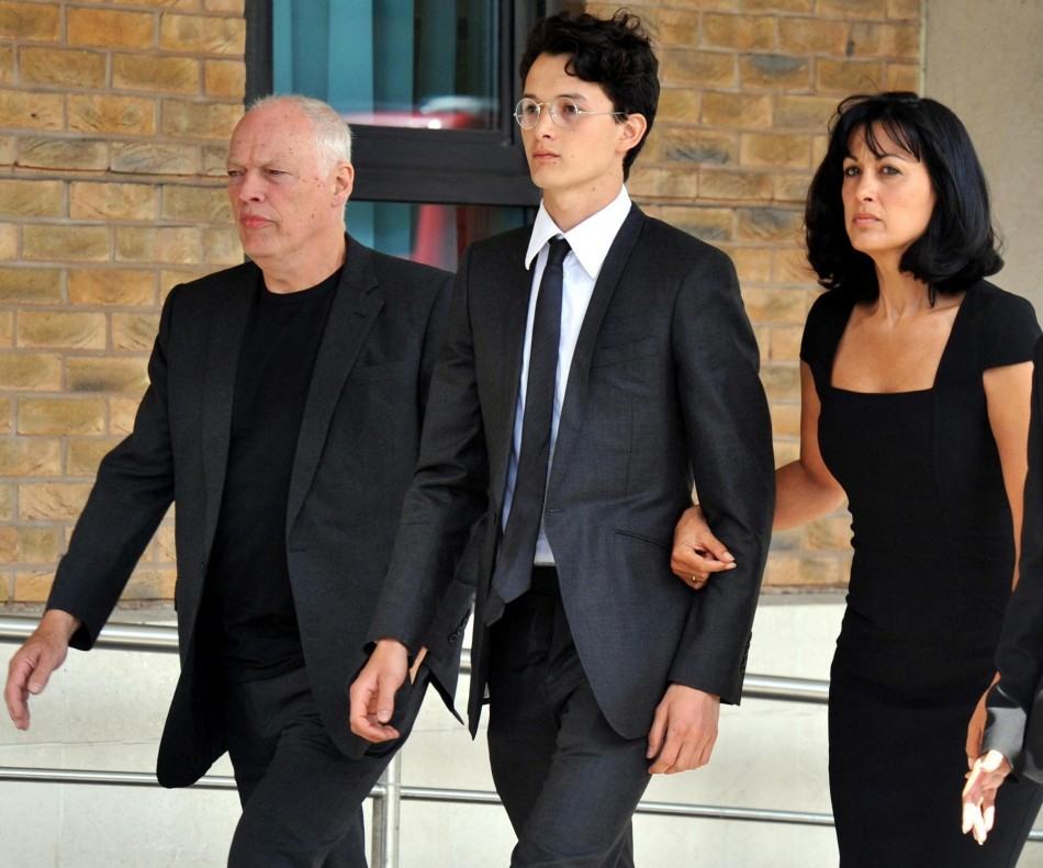 David, Charlie and Polly Gilmour