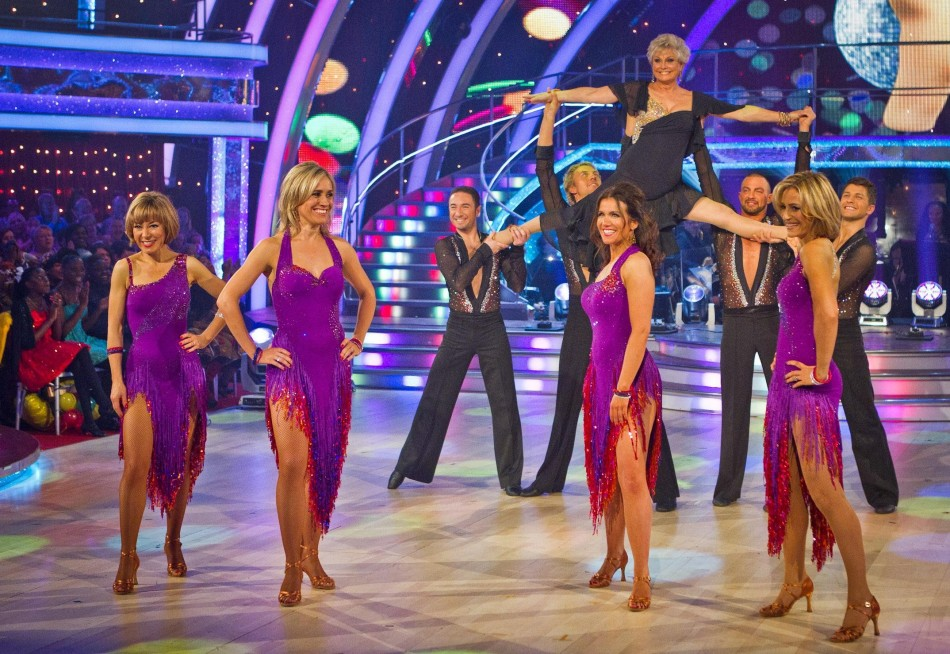BBC newsreaders Strictly routine for Children In Need