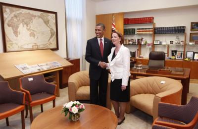 Barack Obama Australia vist